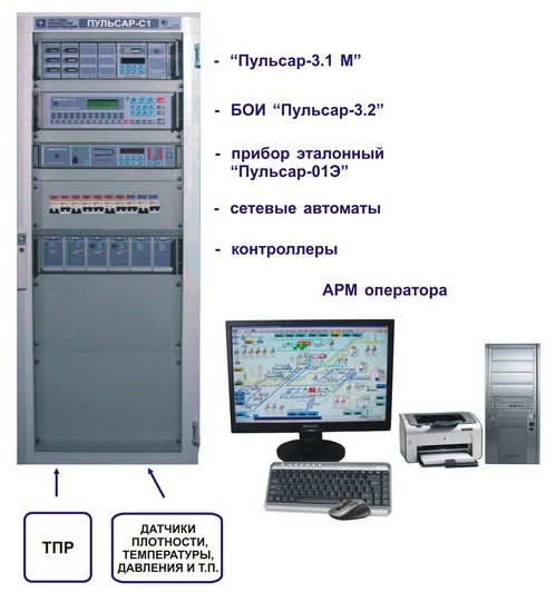 Cистема обработки информации 'Пульсар-С1'